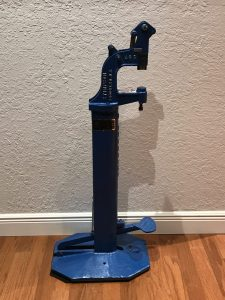 Rivet foot press