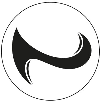 Logo N in a circle